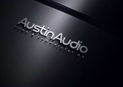 Digital Rize Brand Design - Austin Audio Logo