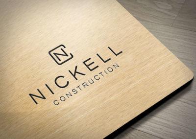 Digital Rize Brand Design - Nickell Constrution Logo